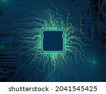 printed circuit board ...   Shutterstock .eps vector #2041545425