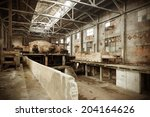 been abandoned for years... | Shutterstock . vector #204164626