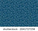 garlic pattern wallpaper....   Shutterstock .eps vector #2041727258