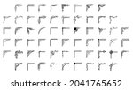 set hand draw of corners... | Shutterstock .eps vector #2041765652