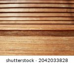 The Brown Surface Of A Wooden...