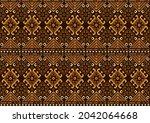 african seamless pattern ...   Shutterstock .eps vector #2042064668