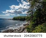 Rocky Rugged Sea Ocean Coastal...