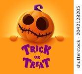 trick or treat. 3d illustration ... | Shutterstock .eps vector #2042128205