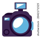 camera photographic device tech ... | Shutterstock .eps vector #2042171525