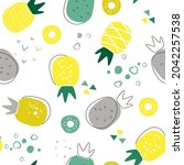 contemporary abstract...   Shutterstock .eps vector #2042257538