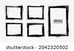 grunge frames. abstract vector... | Shutterstock .eps vector #2042320502