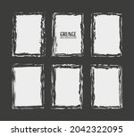abstract grunge distressed... | Shutterstock .eps vector #2042322095