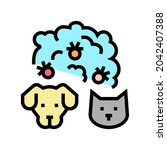 plague domestic animal color...   Shutterstock .eps vector #2042407388