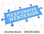 responsive webdesign   puzzle...