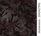 seamless abstract urban pattern ... | Shutterstock .eps vector #2042427542