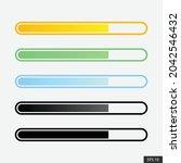 colorful uploading icon or...