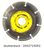 disk for the grinder isolated... | Shutterstock . vector #2042715092