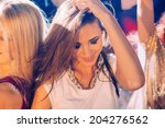 Girl On Party