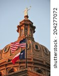 texas state capitol building in ... | Shutterstock . vector #204277072