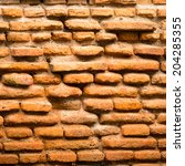 background of brick wall texture | Shutterstock . vector #204285355