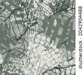 abstract seamless pattern.... | Shutterstock .eps vector #2042904488