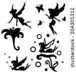collections of vector... | Shutterstock .eps vector #204301312