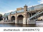 Pushkinsky Foot Bridge Across...