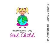 symbol of international day of... | Shutterstock .eps vector #2043245048