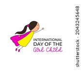 symbol of international day of... | Shutterstock .eps vector #2043245648