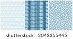 simple abstract seamless vector ...   Shutterstock .eps vector #2043355445