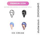 ice cream icon for your website ...