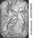 distress grunge vector texture... | Shutterstock .eps vector #2043558692