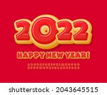vector colorful greeting card... | Shutterstock .eps vector #2043645515