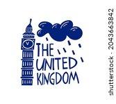 vector hand drawn logo for... | Shutterstock .eps vector #2043663842