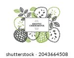 hand drawn sketch style... | Shutterstock .eps vector #2043664508