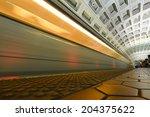Washington D.c.   Subway...