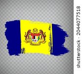flag putrajaya brush strokes....
