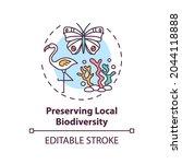 preserving local biodiversity...   Shutterstock .eps vector #2044118888