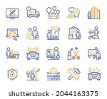 professional services line...   Shutterstock .eps vector #2044163375