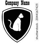 cat logo designs templat with...   Shutterstock .eps vector #2044167425