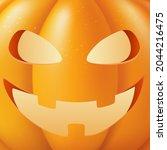 halloween pumpkin vector... | Shutterstock .eps vector #2044216475