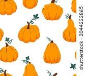 Orange Pumpkins Of Various...