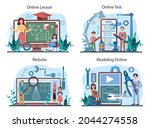 crafting and modeling school...   Shutterstock .eps vector #2044274558