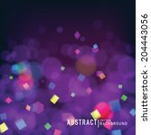 abstract blurred background... | Shutterstock .eps vector #204443056