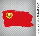 flag kedah brush strokes. flag  ...