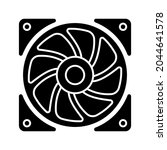 air cooler icon. cooler sign.... | Shutterstock .eps vector #2044641578