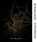 Boulogne Sur Mer  France Map  ...