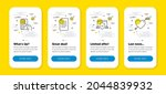 vector set of payment card ...