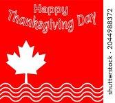 happy thanksgiving day design... | Shutterstock .eps vector #2044988372