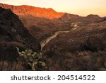 big bend national park and rio... | Shutterstock . vector #204514522
