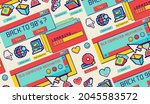 retro moving desktop.colorful...