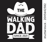 father's day t shirt design | Shutterstock .eps vector #2045642582