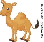 camel cartoon | Shutterstock .eps vector #204568678