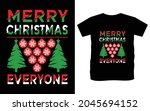 christmas typography vector t...   Shutterstock .eps vector #2045694152